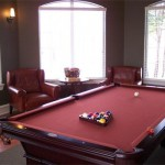 Auberry at Twin Creeks Apartment Billiard Area