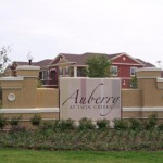 Auberry at Twin Creeks Apartment Entrance 2