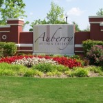 Auberry at Twin Creeks Apartment Entrance