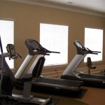 Auberry at Twin Creeks Apartment Fitness Center