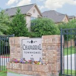 Chaparral Townhomes Apartment Entrance