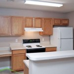 Chaparral Townhomes Apartment Kitchen