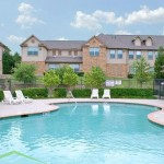 Chaparral Townhomes Apartment Pool