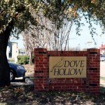 Dove Hollow Apartments Community Sign