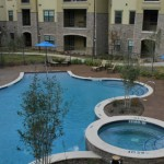 The Aspens at Twin Creeks Apartment Pool