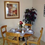 Wildwood Village Apartment Dinning Area
