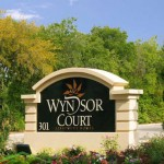 Wyndsor Court Apartment Entrance