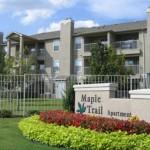 Maple Trail Apartment Community Sign